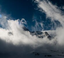 Clouds at the top by Kelly Eaton