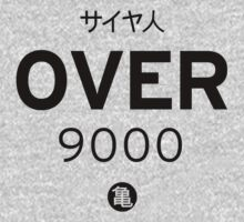 OVER 9000 by hypetees