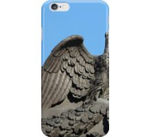 Double headed eagle spreads its wings iPhone Case/Skin