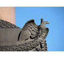 Double headed eagle spreads its wings Photographic Print