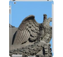 Double headed eagle spreads its wings iPad Case/Skin