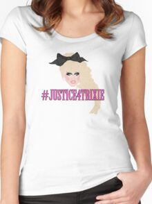 Justice For Trixie Women's Fitted Scoop T-Shirt