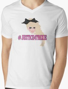 Justice For Trixie Mens V-Neck T-Shirt