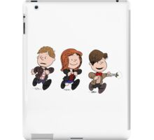 Doctor Who & Amy Comic Peanuts iPad Case/Skin
