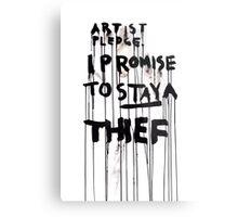 ARTIST PLEDGE Metal Print