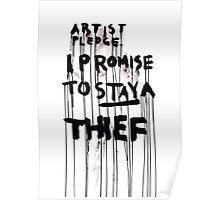 ARTIST PLEDGE Poster