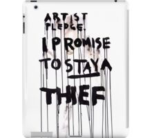 ARTIST PLEDGE iPad Case/Skin