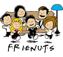 Friends Peanuts Comic Photographic Print