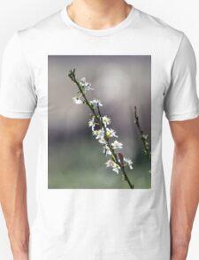 White Blossoms Unisex T-Shirt