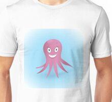 Cute hand drawn octopus. Unisex T-Shirt