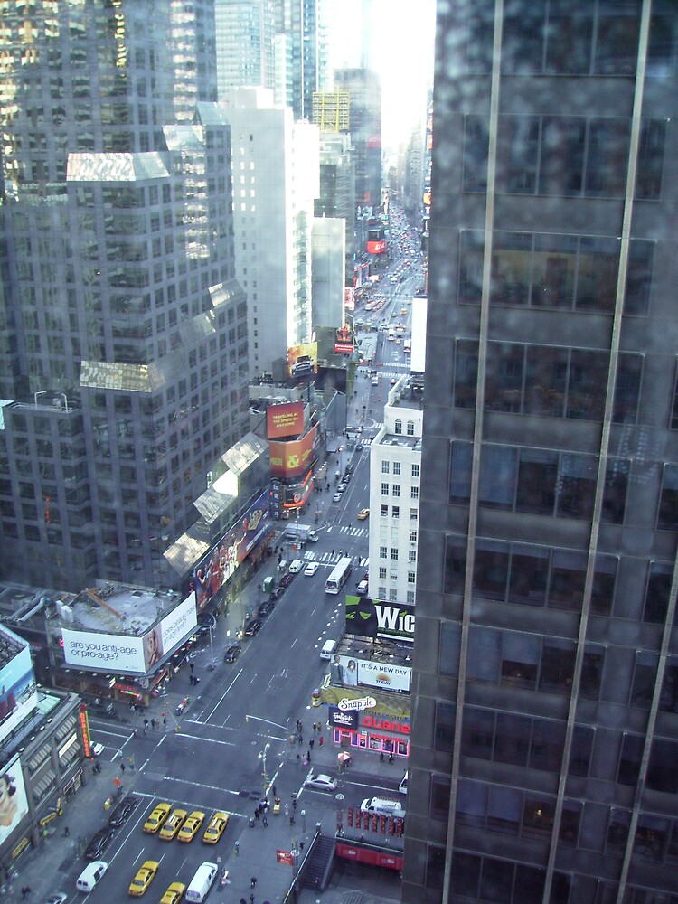 looking down on broadway by annettespiccys
