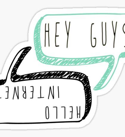 Danisnotonfire and AmazingPhil catchphrases Sticker