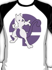 Mewtwo - Super Smash Bros. For Wii U And 3DS T-Shirt