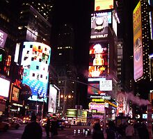 a neon night the city that never sleeps by annettespiccys