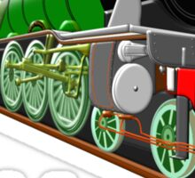 The Flying Scotsman with Blinkers design Sticker