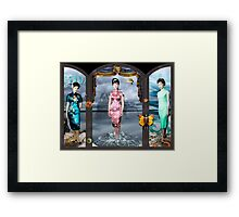 The Sisters. Framed Print