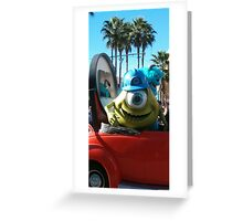 mosters inc Greeting Card