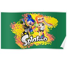 Splatoon Inklings Poster
