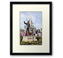Walt and Mickey Framed Print