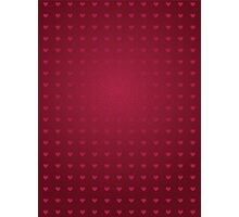 Abstract hearts background Photographic Print