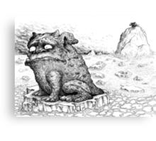 The Wartdog. Canvas Print