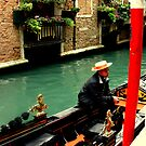 The Tired Gondolier  by HelmD