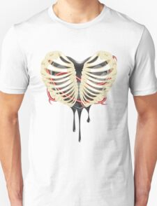Black Heart in Thorax T-Shirt