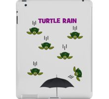 Turtle Rain iPad Case/Skin