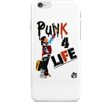 """Punk 4 Life"" iPhone Case/Skin"