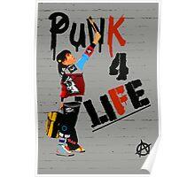 """Punk 4 Life"" Poster"