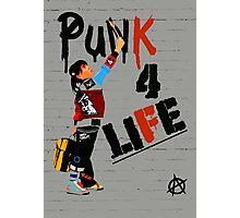 """Punk 4 Life"" Photographic Print"