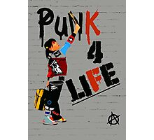"""Punk 4 Life"" Photographic Print"