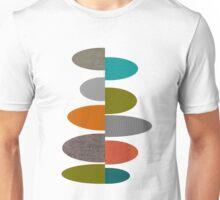 Mid-Century Modern Ovals Unisex T-Shirt
