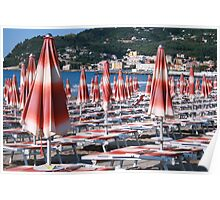 Awaiting the rush Diano Marina Italy Poster