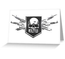 Elite Guns Greeting Card