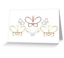 Butterfly Migration Greeting Card