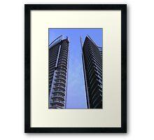 Beirut High Rise Framed Print