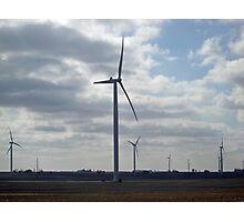 Wind Energy Photographic Print