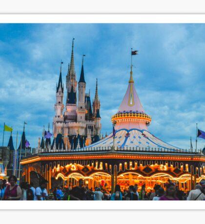 Carousel & Castle Sticker