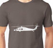 Blackhawk Helicopter Design in White v3 Unisex T-Shirt