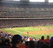 Texas Rangers by nickinoonoo