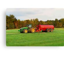 Colorful Agriculture Canvas Print