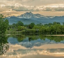 Golden Ponds Reflections by Gregory J Summers