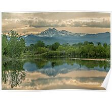 Golden Ponds Reflections Poster