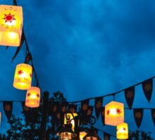 Tangled Lanterns Sticker