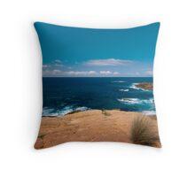 Seascape NSW South Coast Throw Pillow