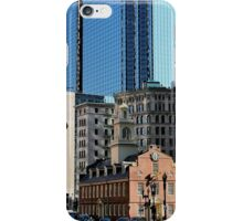 Old Statehouse Revisited iPhone Case/Skin