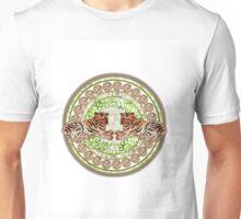 Circular tiger design Unisex T-Shirt