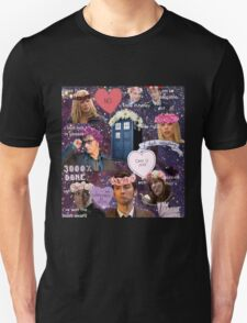 Sassy Tenth Doctor and Companions T-Shirt