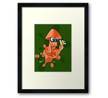 Splatoon Pantone Framed Print